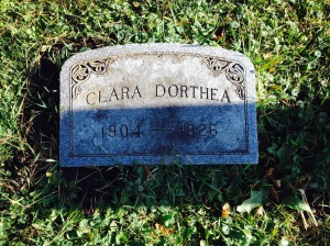 Clara Dorthea Olson 1904 1926