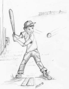 SK 40 Softball batter