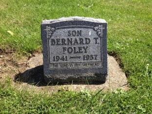 Bernard T Foley 1941-1957